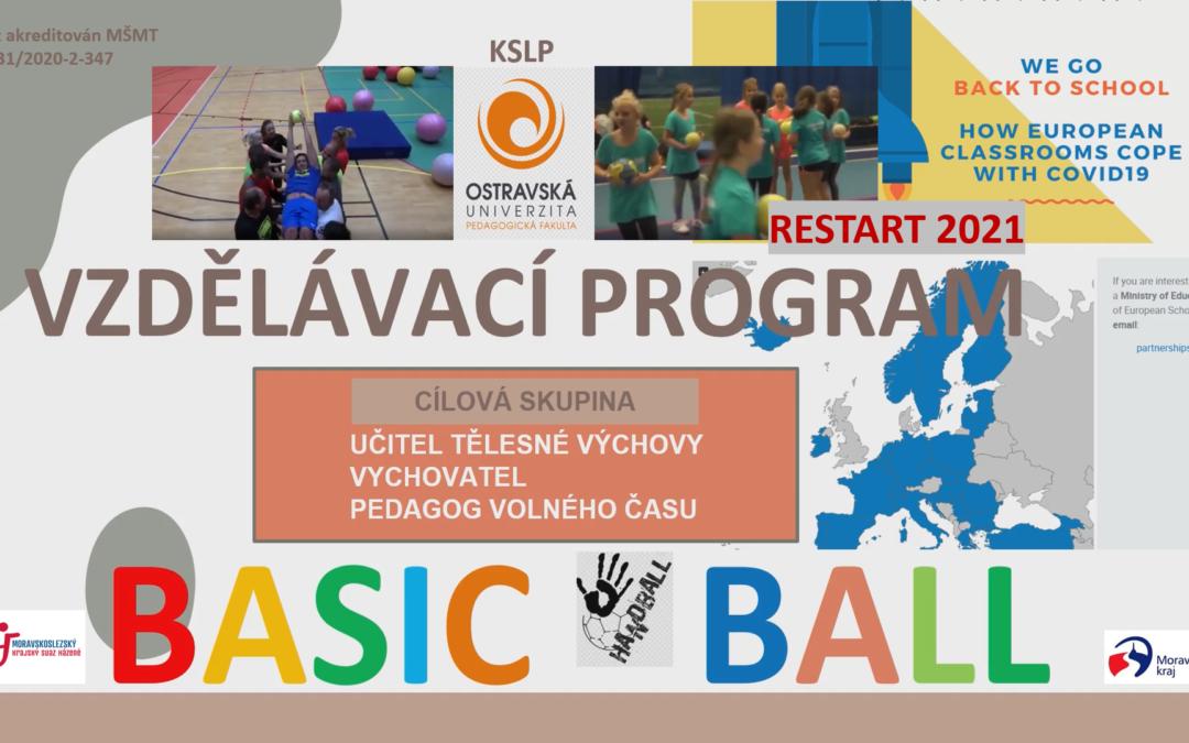 Katedra studií lidského pohybu v září uspořádá kurz Basic handball